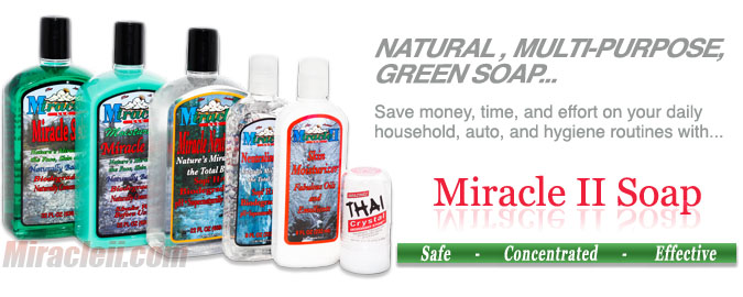 The Miracle II Online Company Original Multi-Purpose Soap